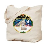 XmasSunrise/Shih Tzu Tote Bag