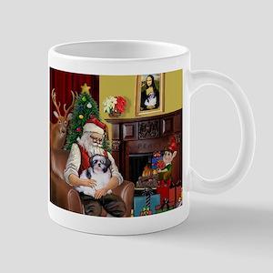 Santa's Shih Tzu (#1) Mug