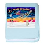 XmasStar/Sib Husky baby blanket