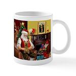 Santa's Silky Terrier Mug