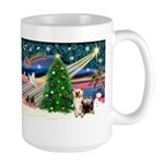 Xmas Magic & Silk Ter Large Mug