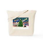 Xmas Magic & Silk Ter Tote Bag