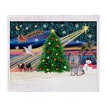 Xmas Magic / Skye Terri Throw Blanket