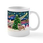 XmasMagic/Tibetan Spaniel Mug