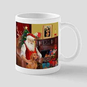 Santa's Vizsla Mug