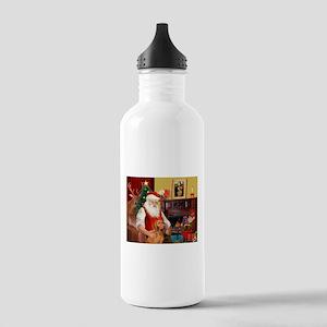 Santa's Vizsla Stainless Water Bottle 1.0L