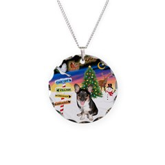 XmasSigns/Corgi Pup (Z) Necklace