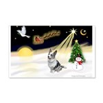 Night Flight/Corgi (BM) 22x14 Wall Peel