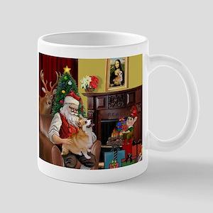 Santa's Welsh Corgi (7b) Mug