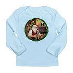 Santa's Welsh T Long Sleeve Infant T-Shirt