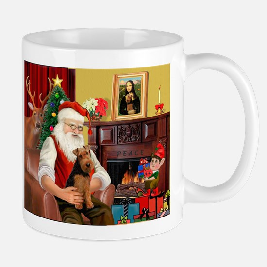Santa's Welsh Terrier Mug