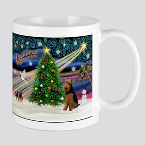 Xmas Magic & Welsh Terrier Mug