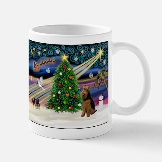 Xmas Magic & Welsh Terrier Mug