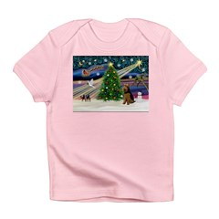 Xmas Magic & Welsh Terrier Infant T-Shirt