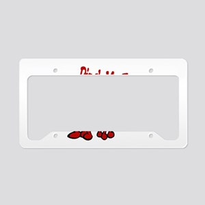 Pinch Me Smiling Crawfish License Plate Holder
