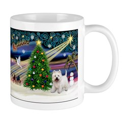Xmas Magic & Westie Mug