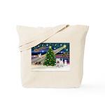 Xmas Magic & Westie Tote Bag