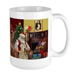 Santa's Wheaten (#7) Large Mug