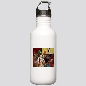 Santa's Wheaten (#7) Stainless Water Bottle 1.0L