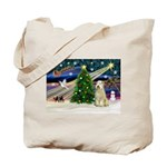 XmasMagic/Wheaten (#10) Tote Bag