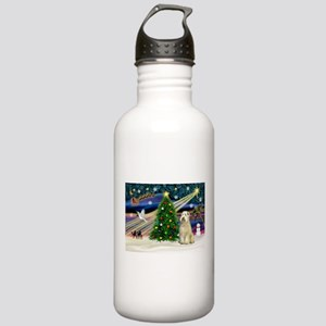 XmasMagic/Wheaten (#10) Stainless Water Bottle 1.0