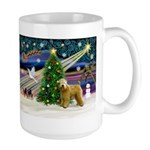 XmasMagic/Wheaten (#2) Large Mug