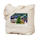 XmasMagic/Wheaten (#2) Tote Bag