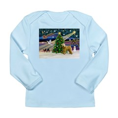 XmasMagic/Wheaten (#2) Long Sleeve Infant T-Shirt