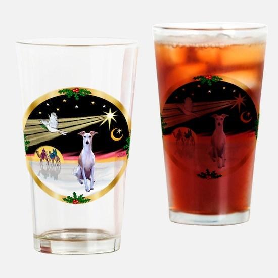 Wisemen/Whippet #8 Drinking Glass