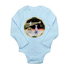 Wisemen/Whippet #8 Long Sleeve Infant Bodysuit