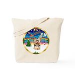 XmasMusic 3/Yorkie #17 Tote Bag