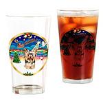 XmasMusic 3/Yorkie #17 Drinking Glass