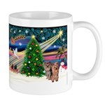 Xmas Magic & Yorkie Mug