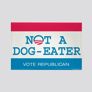 Not a Dog Eater Rectangle Magnet