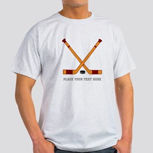Ice Hockey Customized Light T-Shirt