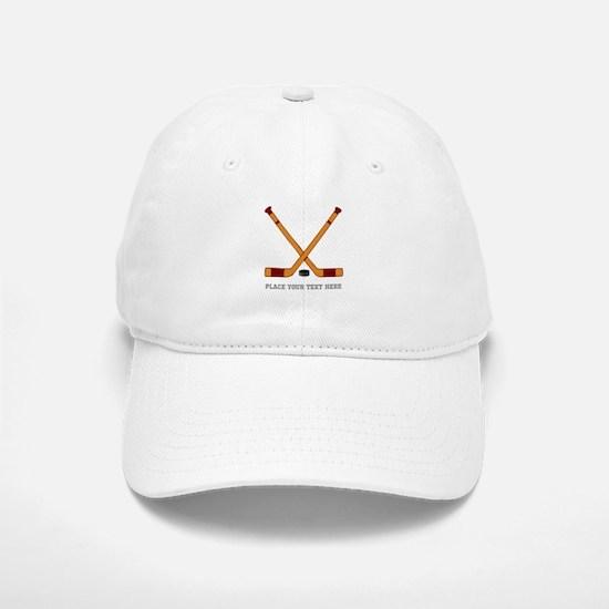 Ice Hockey Customized Baseball Baseball Cap