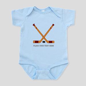 Ice Hockey Customized Infant Bodysuit