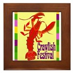 Crawfish Fest Framed Tile