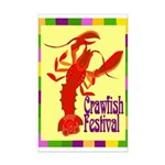 Crawfish Fest Mini Poster Print