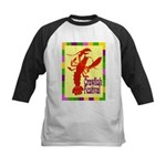 Crawfish Fest Kids Baseball Jersey