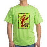 Crawfish Fest Green T-Shirt