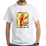 Crawfish Fest White T-Shirt