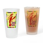 Crawfish Fest Drinking Glass