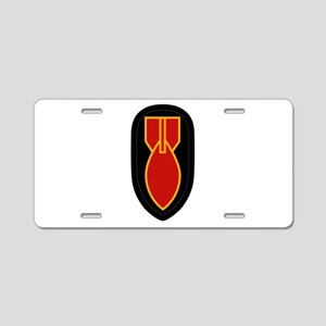 WWII Bomb Disposal Aluminum License Plate