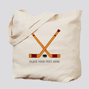 Ice Hockey Customized Tote Bag