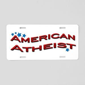 American Atheist Aluminum License Plate