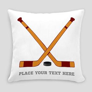 Ice Hockey Customized Everyday Pillow