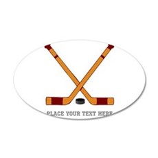 Ice Hockey Customized Decal Wall Sticker