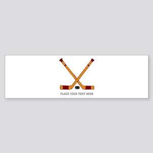 Ice Hockey Customized Sticker (Bumper)