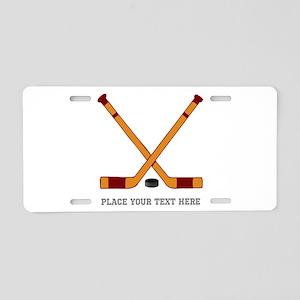 Ice Hockey Customized Aluminum License Plate